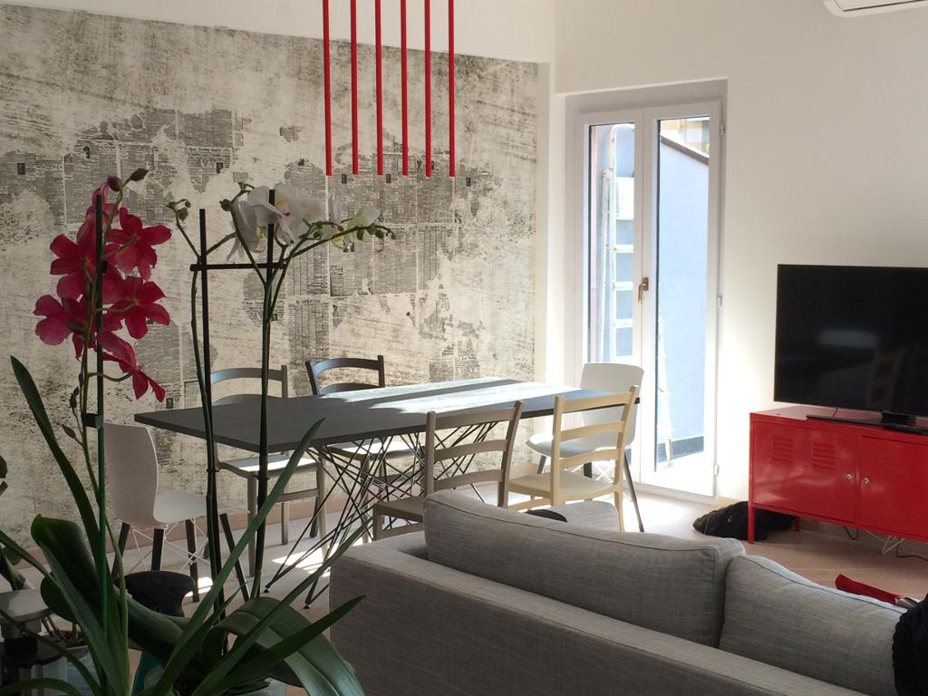 Tinteggiatura decorazioni adesivi murali resine for Wall and deco showroom milano